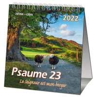 CALENDRIER CED PSAUMES 23 PETIT FORMAT
