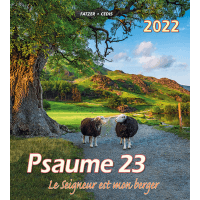CALENDRIER CED PSAUMES 23 GRAND FORMAT