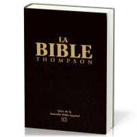 BIBLE THOMPSON NBS RIGIDE NOIRE TR. BLANCHE ONGLETS